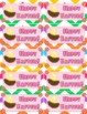 Chevron Flower Themed Seasonal Mini Notes