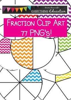 Chevron Fractions Clipart 77 PNG's