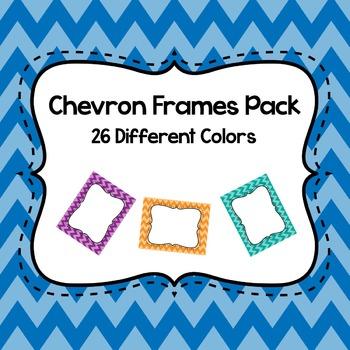 Chevron Frame Pack (26 Colors)