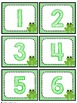 Chevron Frog Number Labels: Editable, Classroom Decor, Org
