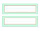 Chevron Grey, Mint, Coral Desk Tags/ Name Tags / Labels