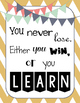 Chevron ~Growth Mindset~ Poster Set