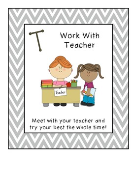Chevron Guided Math Posters