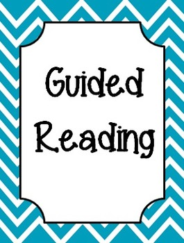 Chevron Guided Reading Pack
