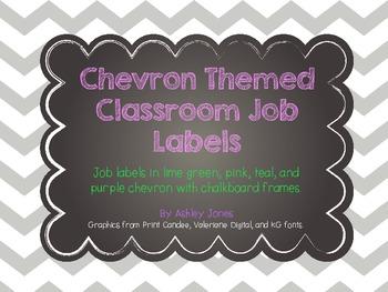 Chevron Job Labels