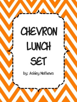 Chevron Lunch Set