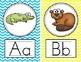 Alphabet Posters {Bright Chevron}