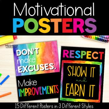Chevron Motivational Posters