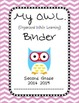 Chevron OWL Binder Second Grade