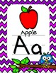 Chevron Owl Alphabet