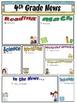 Newsletter (editable) ~ Chevron Print Multi Color