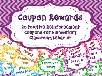 Chevron Reward Coupons