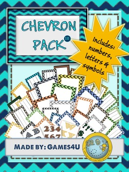 Chevron MEGA PACK Room Helpers