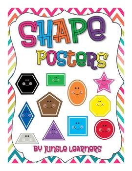 Shape Posters: Chevron