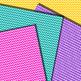Chevron {White Stripes} Digital Paper - FREE!