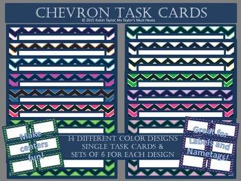 Chevron Task Cards
