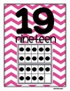 Chevron Ten Frame Number Set