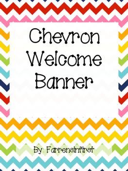 Chevron Welcome Banner