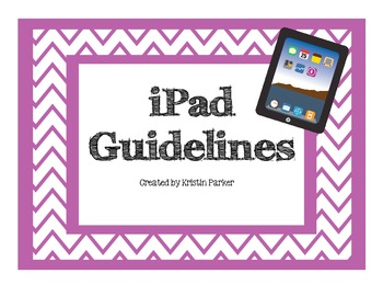Chevron iPad Rules Posters