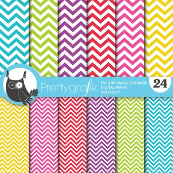 Chevron small large digital paper, commercial use, scrapbo