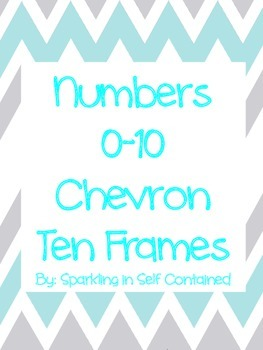 Chevron ten frame numbers 0-10
