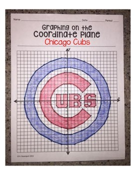 Chicago Cubs (Coordinate Graphing Activity)