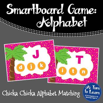 Chicka Chicka Boom Boom ABC Recognition Game for Smartboar