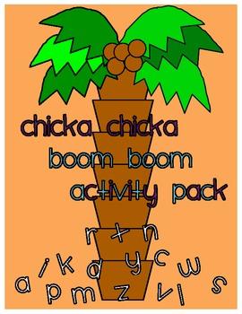 Chicka Chicka Boom Boom Display & Activities/Teachers Aid/