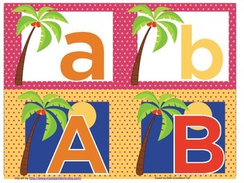 Chicka Chicka Boom Boom Beebot Upper and Lower Case Alphab