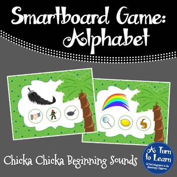 Chicka Chicka Boom Boom Beginning Sounds Game for Smartboa