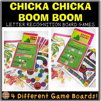 Chicka Chicka Boom Boom Board Game