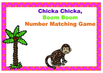 Chicka Chicka Boom Boom Number Match Game ~ 0 -10