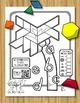 Alphabet Tree - Pattern Blocks + QR Code Listening Station
