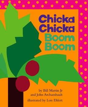 Chicka Chicka Boom Boom - Story Visuals [speech therapy an