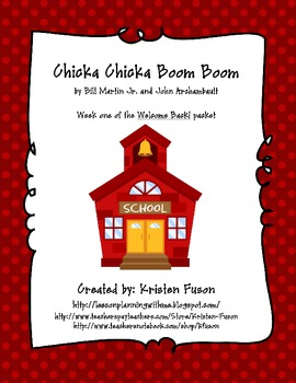 Chicka Chicka Boom Boom! Welcome Back to School!