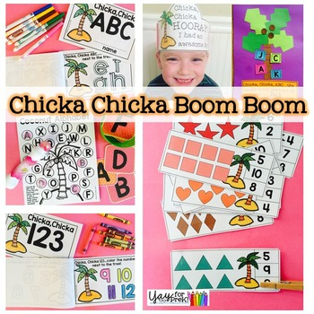 Chicka Chicka Boom Boom activities for Preschool, PreK and