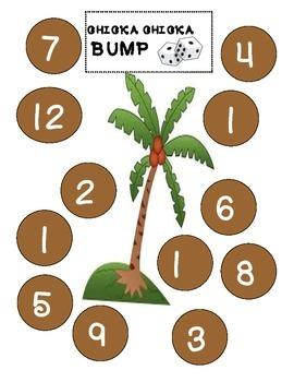 Chicka Chicka Bump Math Game