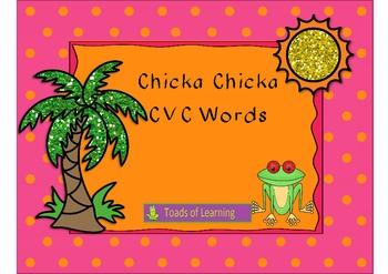 Chicka Chicka CVC Words