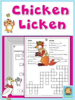 Chicken Licken  Puzzle Fun