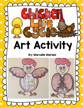 Chicken Life Cycle- Chicken Life Cycle Art Template - Diff