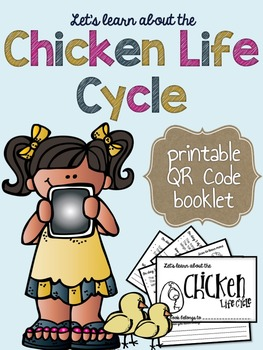 Chicken Life Cycle Printable Interactive Activity Booklet