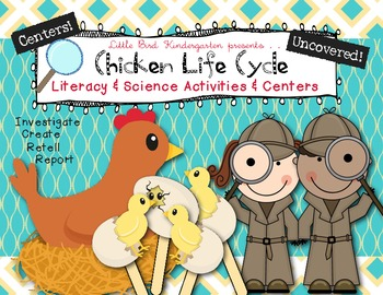 Chicken Life Cycle Uncovered! Literacy & Science Activitie