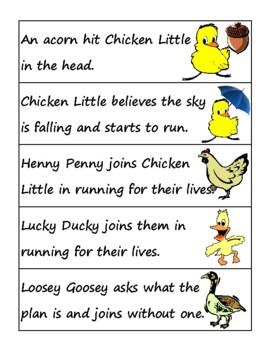 Chicken Little Activities