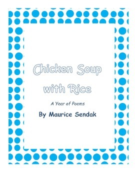 Chicken Soup with Rice Poetry Booklet