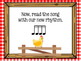 Chicken on a Fencepost: Song to teach sixteenth notes
