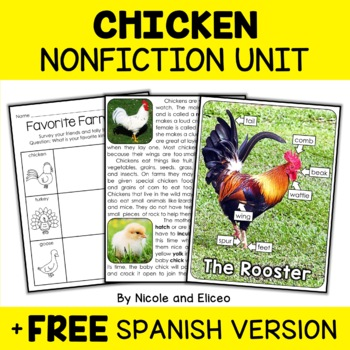 Nonfiction Chicken Activities