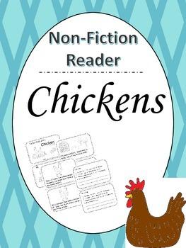 Chickens Info Book - Non Fiction