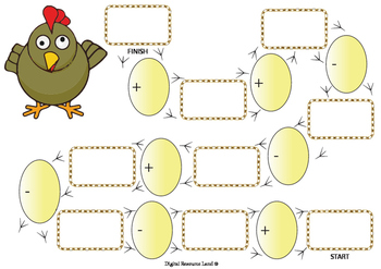 Chicky Wicky Math Addition and Subtraction