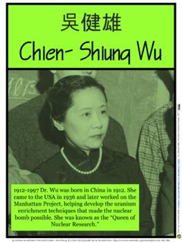Chien-Shen Wa (Women in Science #7)
