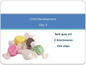 Child Development unit 1 day 3 power point Parenting respo